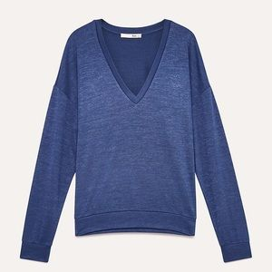 Aritzia Wilfred Free Remy Long Sleeve top